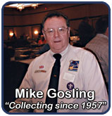 "Mike Gosling - ""Collecting since 1957"""